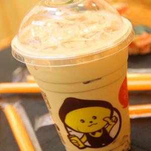 奶盖冰梨茶